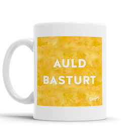 Auld Basturt Scottish Dialect Mug Mugs Scotland Scottish Scots Gift Ideas Souvenir Present Highland Tartan Personalised Patter Banter Slogan Pure Premium Dialect Glasgow Edinburgh Doofery