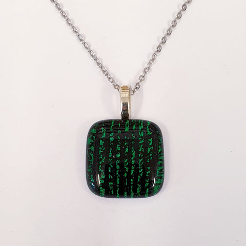 Inspired by The Matrix design dichroic pendant.