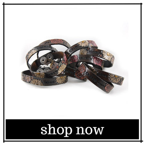 Leather Bracelets and Cuffs