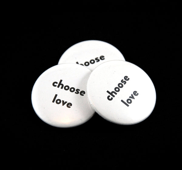 BN1 - Pinback Buttons - Fun & Inspirational - Fearless hART