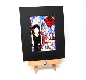 "PR1 - Matted Art Print ""She Had a Very Important Story to Tell"""