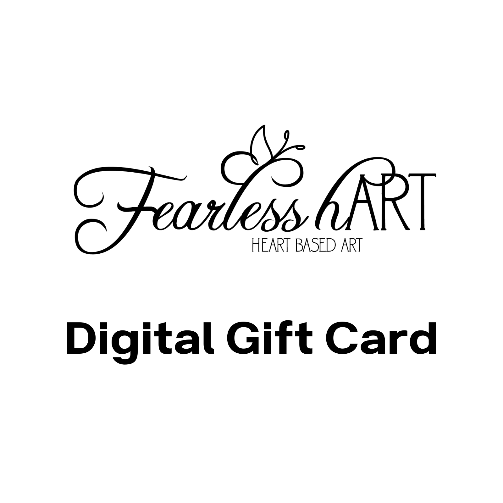Gift Card - Fearless hART