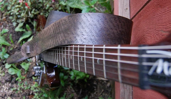 Custom Guitar, Bass, Banjo Straps