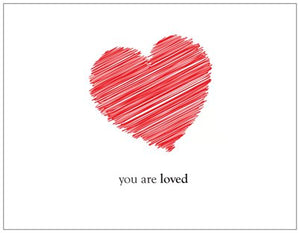 You Are Loved Cards - Fearless hART