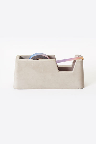 Concrete Tape Dispenser, Gray | Magnus Pettersen X Areaware
