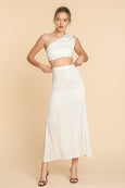 Gwyneth Skirt, White | Trois