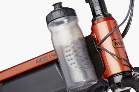 FABRIC CAGELESS WATER BOTTLE RIESE & MULLER - BIKE ACCESSORIES