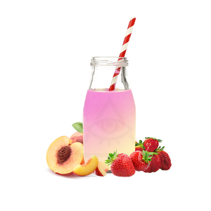 Strawberry Peach Milk