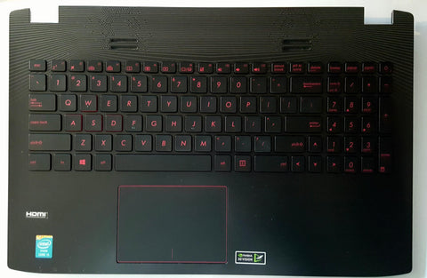 New Asus G552V G552VW G552VX US Backlit Keyboard Touchpad Palmrest Assembly 13NB07Z2AP0431 90NB07Z1-R31US0