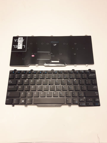 New Dell Latitude 3340 E5450 E7450 E7470 5480 5490 US English Keyboard 94F68 094F68 41MMG