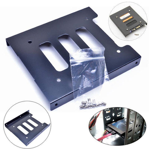 New SSD 3.5 to 2.5 Hdd Hard Drive Metal Mounting Bracket Tray
