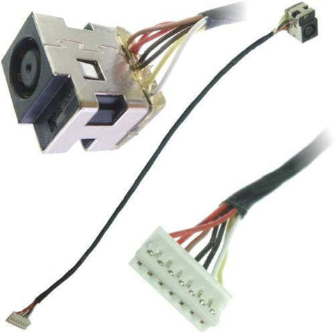 Genuine HP Compaq CQ56 CQ62 CQ72 DC Power Jack Cable 616496-001 600719-001 7 Pin - LaptopParts.ca