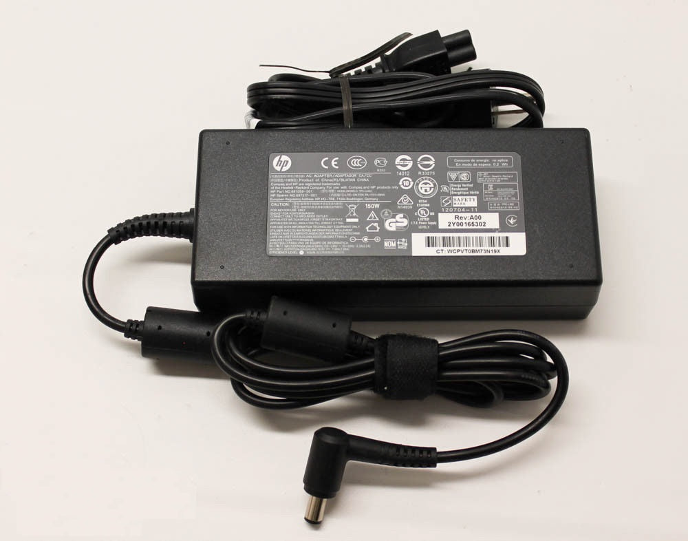 New Genuine HP 8440p 8540p 8540w 8560p 8560w AIO PC Series AC Adapter Charger Slim 150W