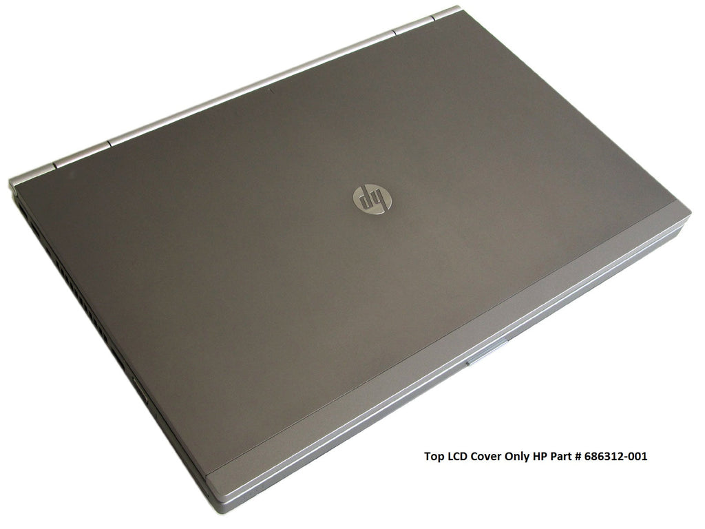 HP Elitebook 8560P 8570P LCD Back Cover Silver 686312-001 Top Cover ONLY
