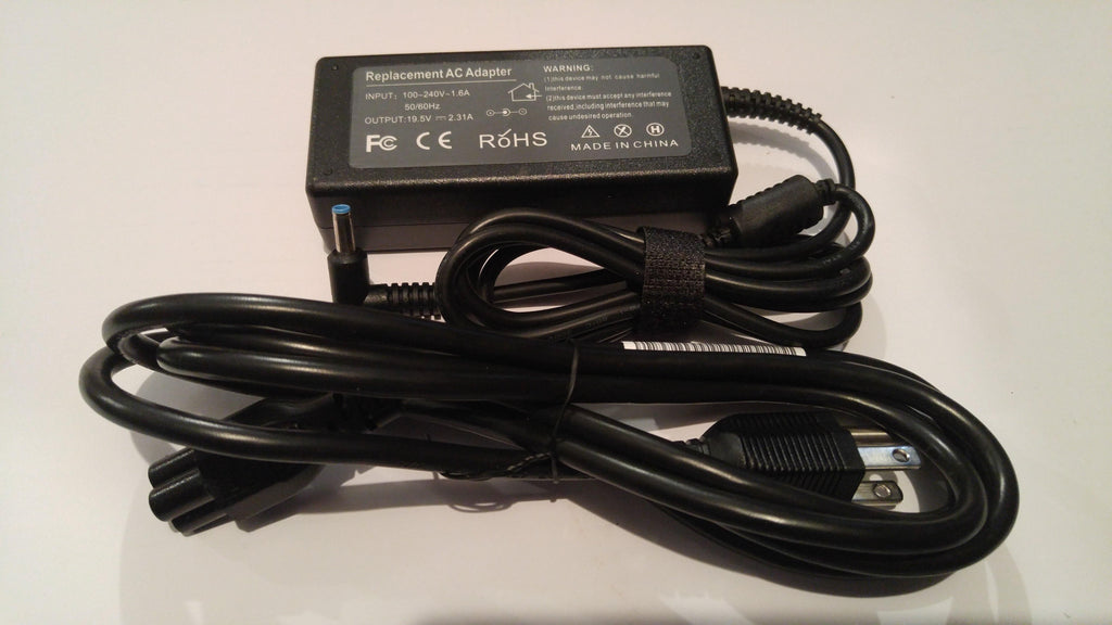 New Compatible HP 17-Y022NF 17-Y002NM 17-Y003NV 17-Y008CY AC Adapter Charger 45W