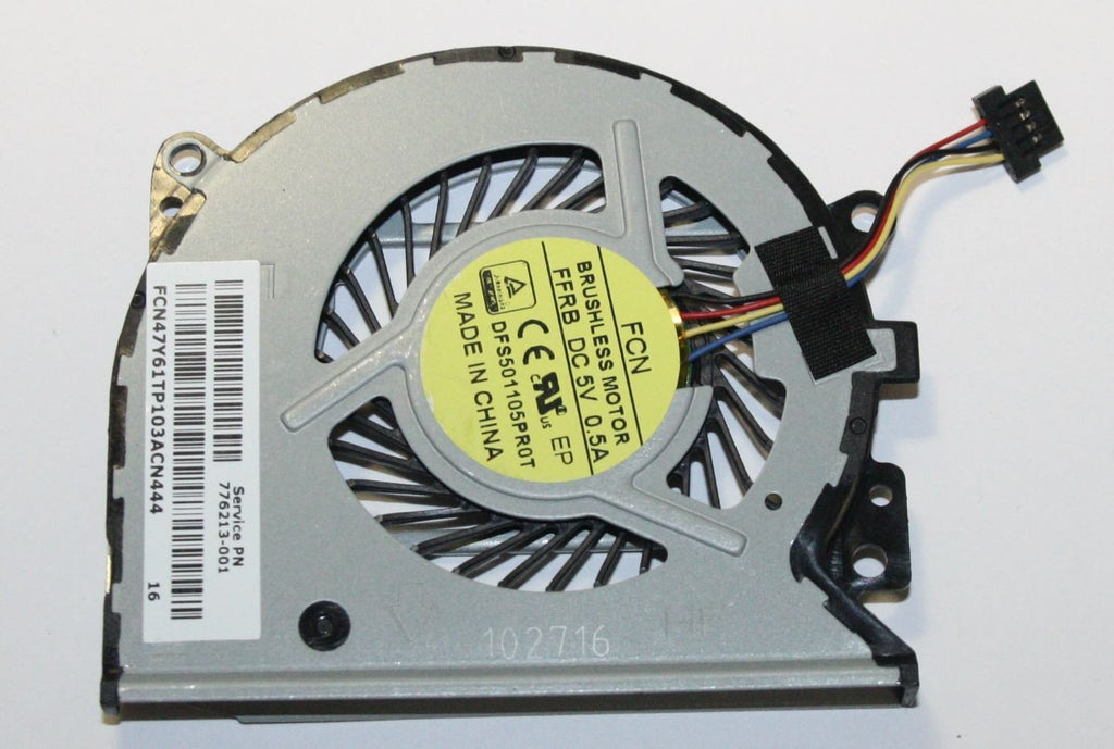 New HP Envy X360 15-U Series Cpu Fan 776213-001