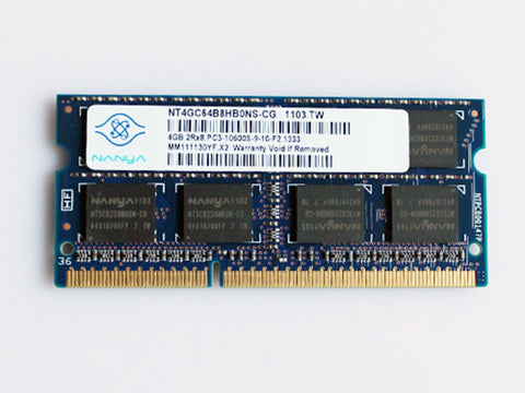 New Genuine Nanya 4GB 2Rx8 PC3-10600S-9-10-F2 1333 1212.TW Memory RAM NT4GC64B8HG0NS-CG