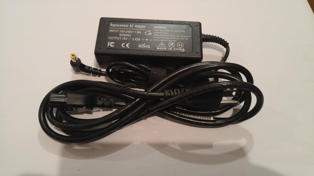 New Compatible Gateway ID79C NV49C NV50A NV51 NV51B AC Adapter Charger 65W