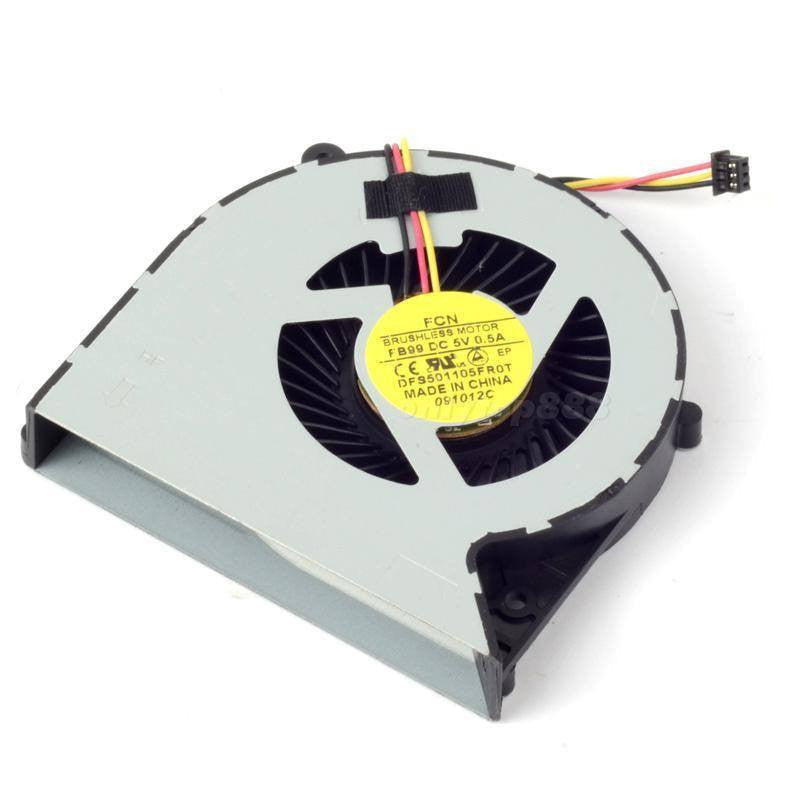 New Genuine Toshiba Satellite S875 S875D 3 Pin CPU Fan MF60090V1-C450-G99 DFS501105 H000037350