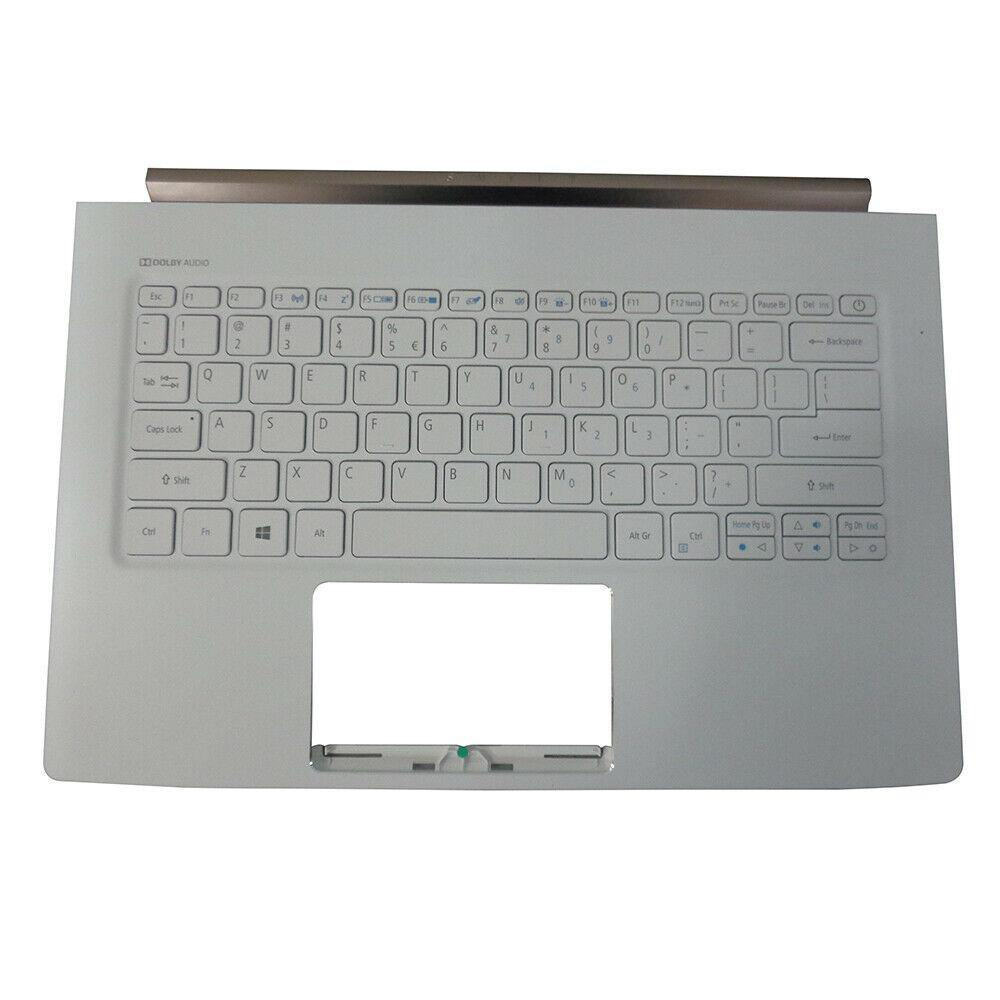 Acer Swift 5 SF514-51 White Palmrest Keyboard 6B.GLEN2.001