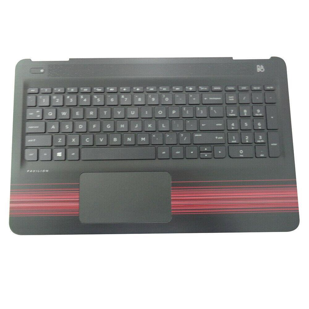HP Pavilion 15-AU 15-AW Palmrest w Keyboard Touchpad 856041-001