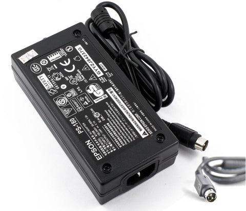 New Genuine Epson TM U375 TM U375P TM U590P TM U925 TM U950P TM-H5000 TM-H6000 AC Adapter Power Supply PS-180