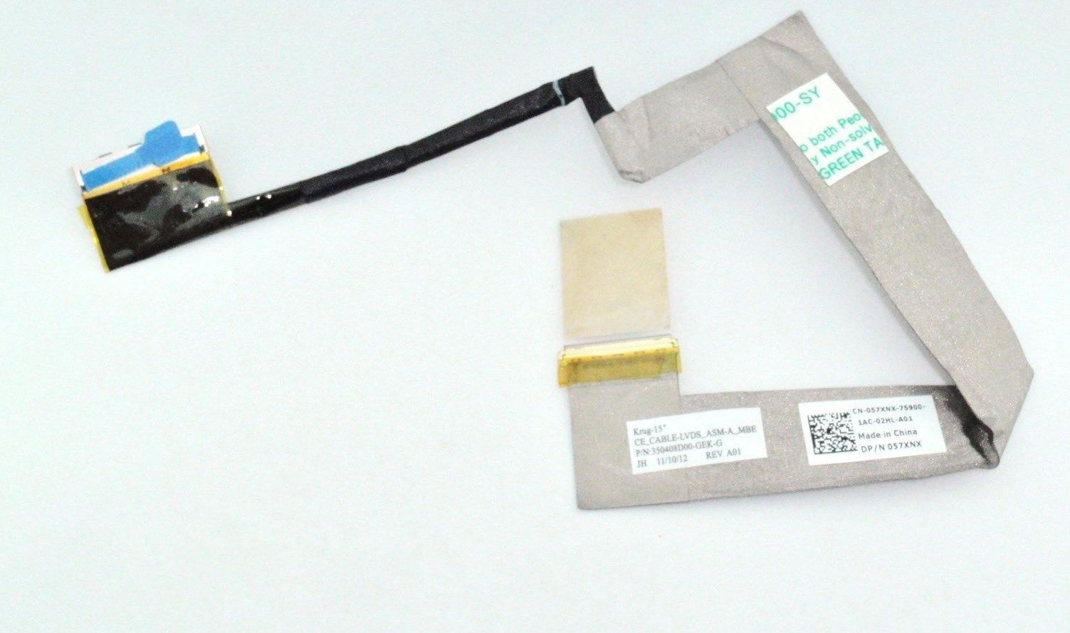 New Dell Latitude E5520 E6520 LCD Cable 350404C00-600-G 350408D00-GEK-G 57XNX 057XNX