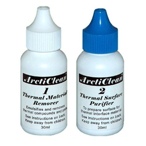 Arctic Silver ArctiClean ACN-60ML Set 1 & 2 Thermal Paste Material Remover & Surface Purifier