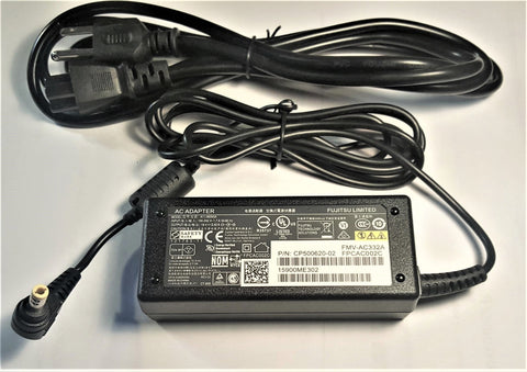 New Fujitsu Lifebook 76-01B651-5A 12-01793-01 FPCAC004 19V 3.42A AC Power Adapter 65W