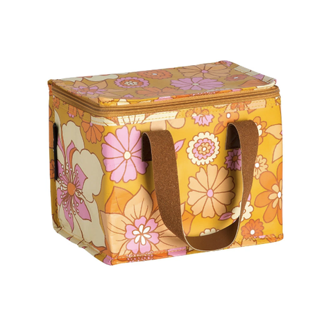 KOLLAB LUNCH BOX: RETRO MUSTARD FLORAL