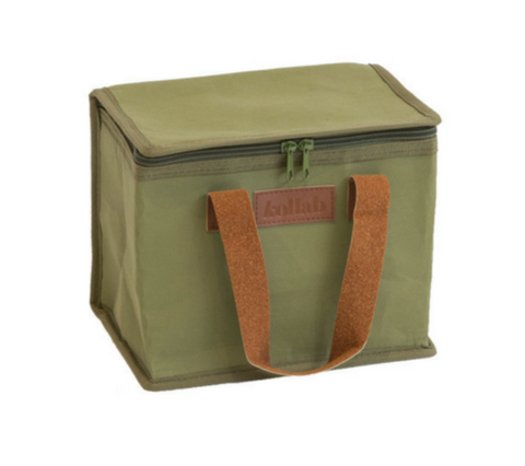 KOLLAB PAPER LUNCH BOX: OLIVE