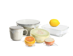 SEED & SPROUT REUSABLE STRETCH LID SET OF 6