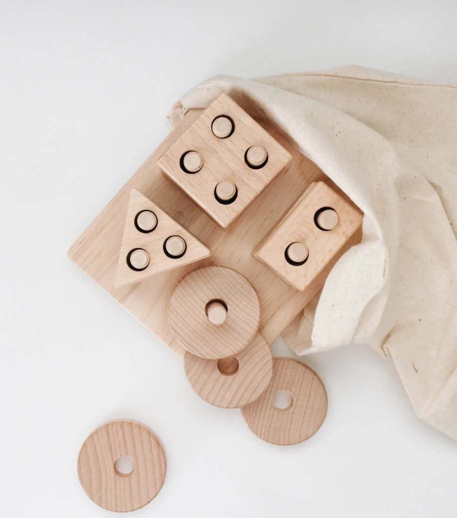 L+L ECO WOODEN SHAPE SORTER