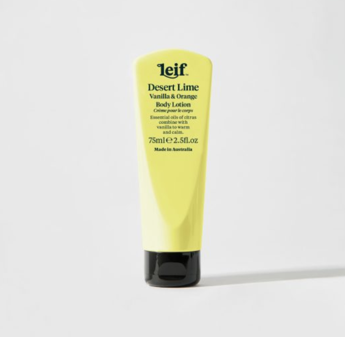 LEIF DESERT LIME BODY LOTION: 75ML