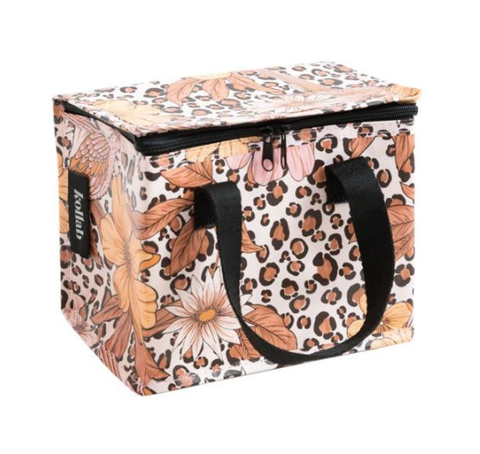 KOLLAB LUNCH BOX: LEOPARD FLORAL