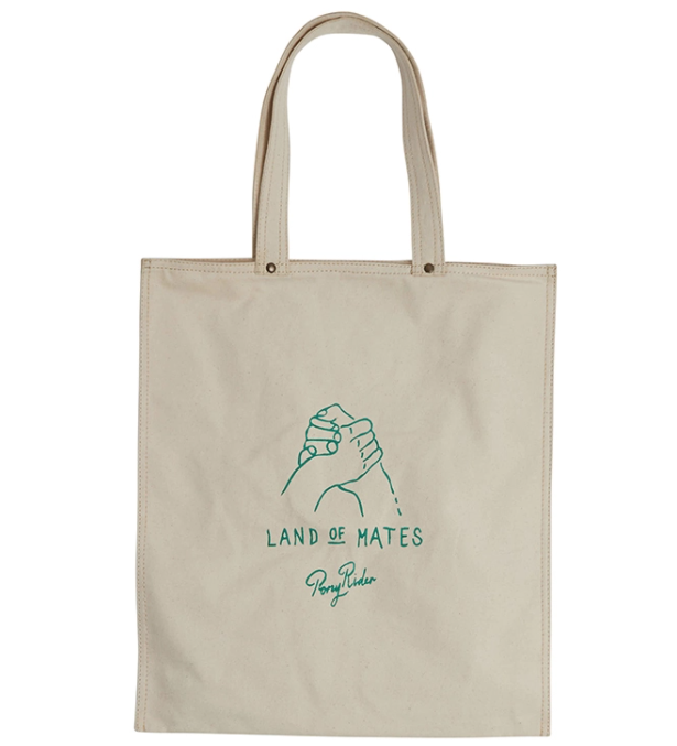 PONY RIDER TOTE: LAND OF MATES