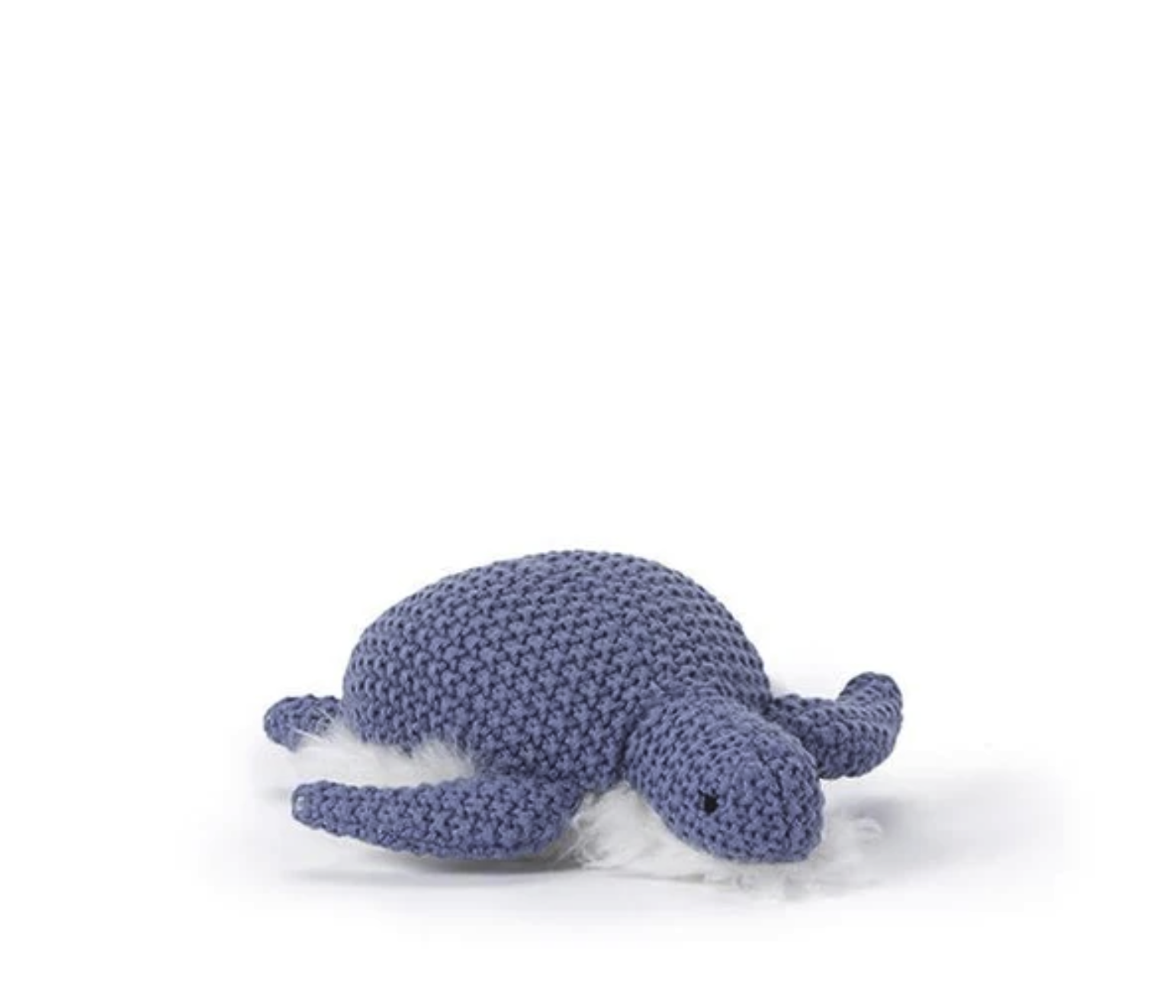 NANA HUCHY TOBY TURTLE RATTLE: BLUE
