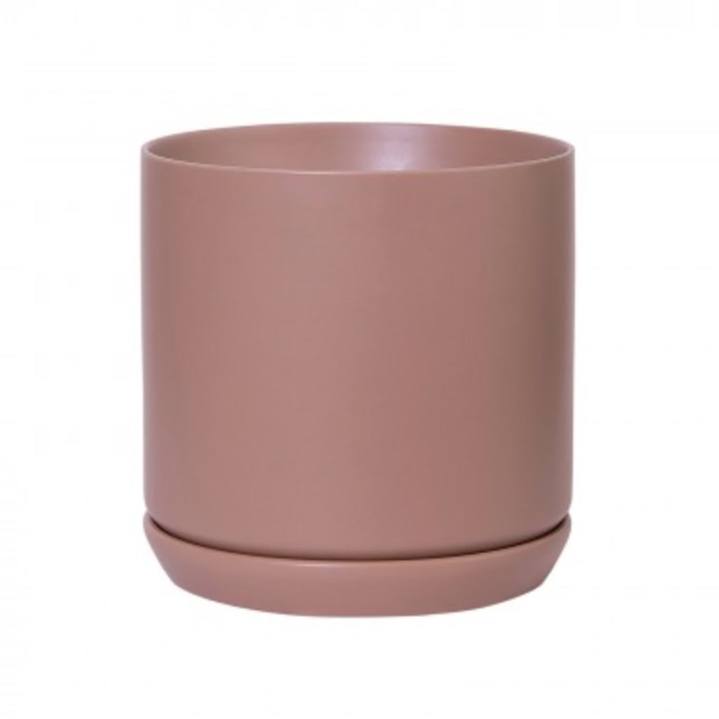 ZEST OSLO PLANTER: LARGE / DUSTY ROSE