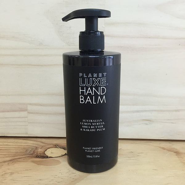 PLANET LUXE HAND BALM LEMON MYRTLE 500ML