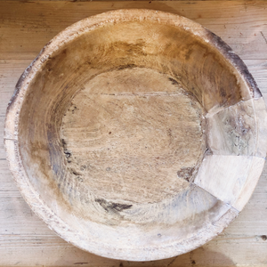 RML HAND CARVED BOWL