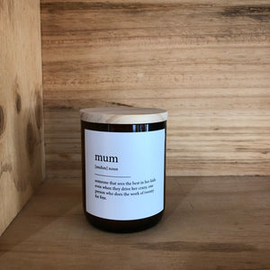 COMMONFOLK COLLECTIVE MUM CANDLE: HUDSON VALLEY