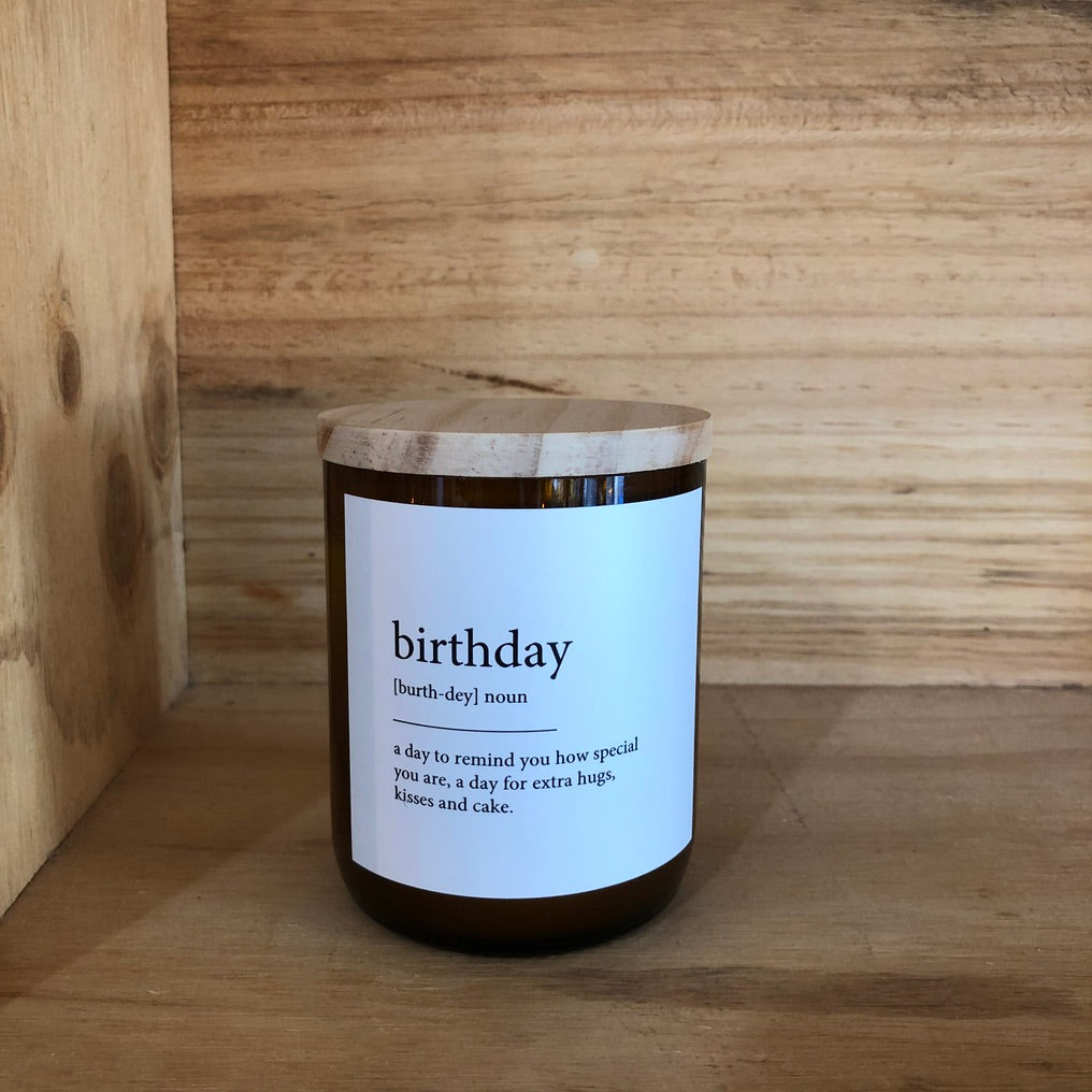 COMMONFOLK COLLECTIVE BIRTHDAY CANDLE: MALI
