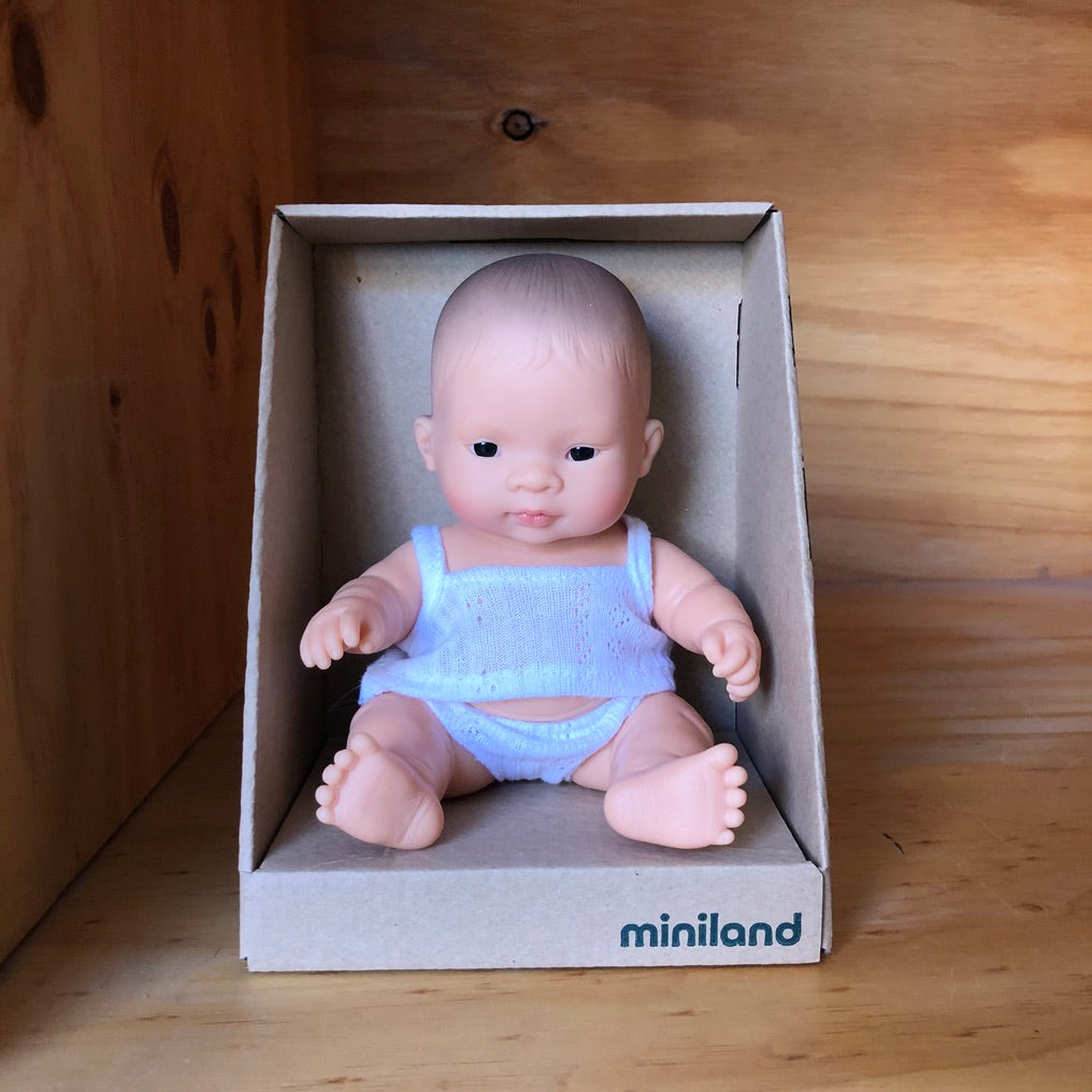 MINILAND 21CM DOLL: ASIAN BOY