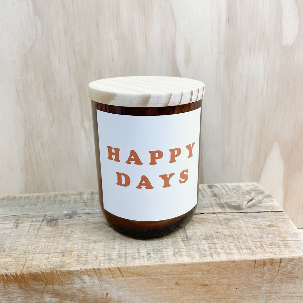 COMMONFOLK COLLECTIVE HAPPY DAYS CANDLE: PALM DESERT