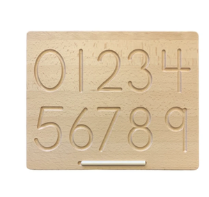 MHH WOODEN NUMBERS TRACING BOARD