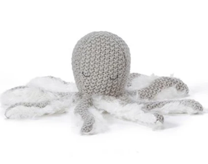 NANA HUCHY OLLI OCTOPUS RATTLE: GREY
