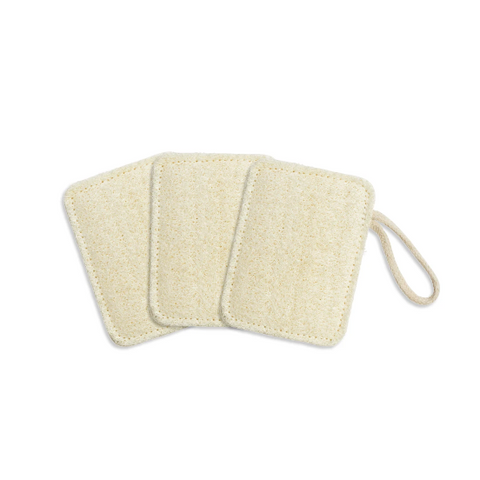 SEED & SPROUT COMPOSTABLE KITCHEN LOOFAHS: SET OF 3