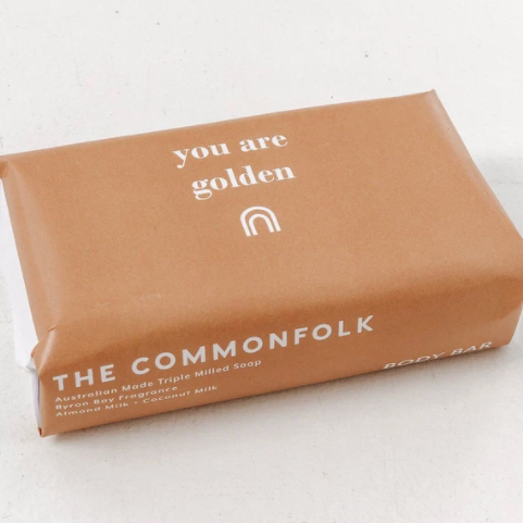 COMMONFOLK COLLECTIVE BODY BAR: YOU ARE GOLDEN