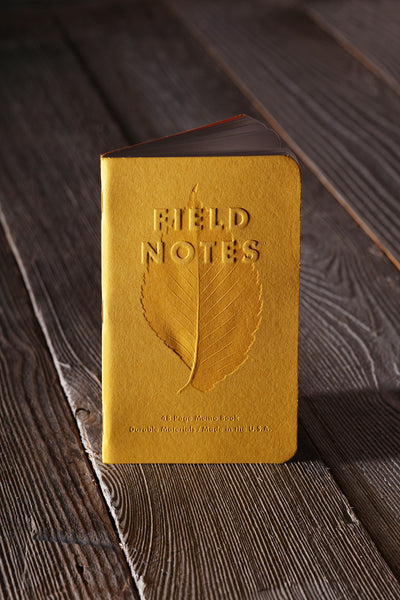 FIELD NOTES 2019 Quarterly Edition - Autumn Trilogy - Set of 3 Ruled Memo Books