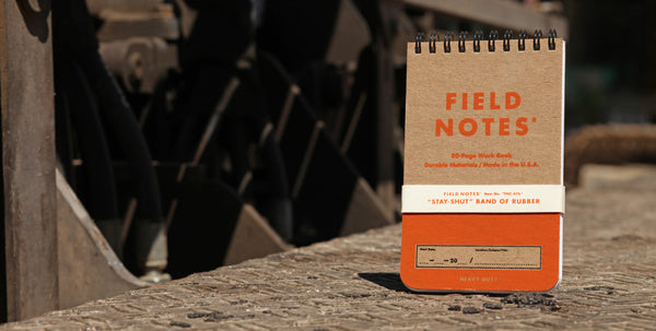 FIELD NOTES 2020 Quarterly Edition - Heavy Duty - Set of 2 Ruled And Double Graph Grid